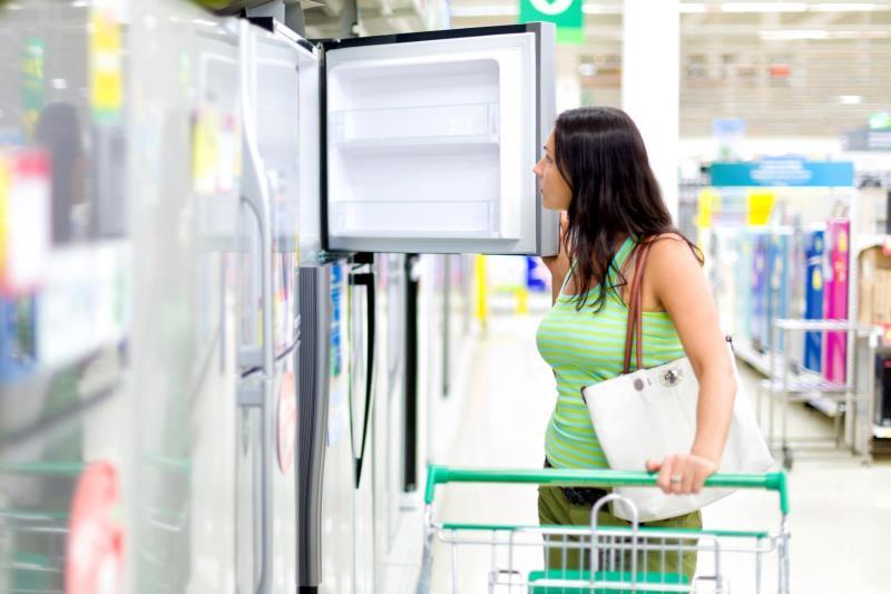 Покупка холодильника по акции в интернет-магазине